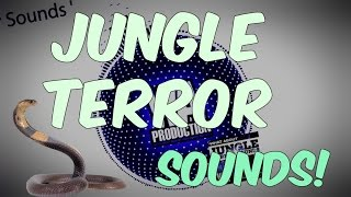 WELCOME To The Jungle Terror Sounds   Alvaro, Dillon Francis Style Samples & Presets