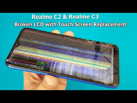 Realme C2 and Realme C3 Broken Screen Replacement | Mobile Display Restoration | How To Replace???