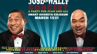 (FULL) JOSE AND WALLY CONCERT 2013 A PARTY FOR JUAN AND ALL