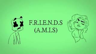 Marshmello ft. Anne-Marie ~ FRIENDS ~ Lyrics Traduction