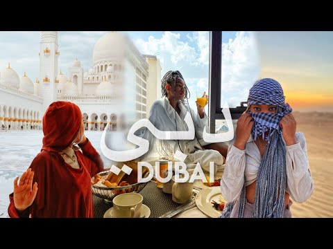 DUBAI VLOG| Desert Safari, Gold Souk, Grand Mosque + MORE!!!