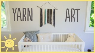 Diy | Nursery Yarn Art