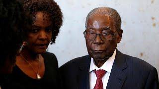 Malade , Mugabe incapable de marcher