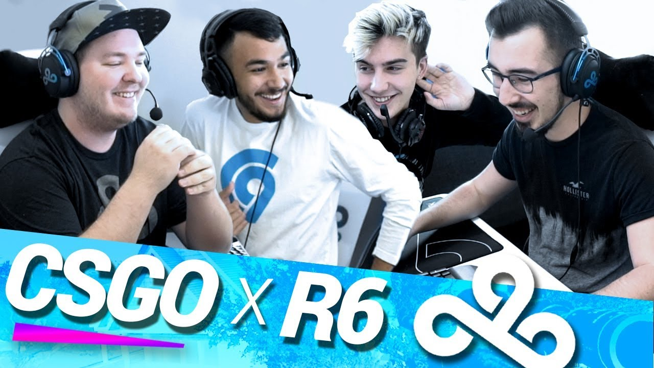Cloud9 CS:GO x R6 Crossover | CS:GO 2v2!