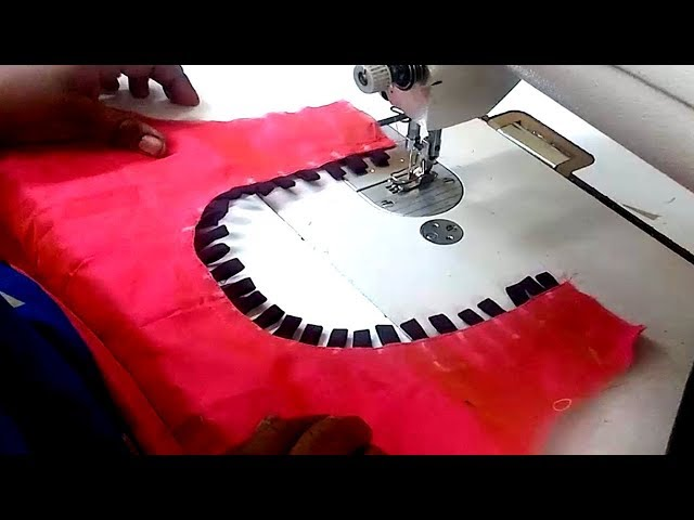 chudidar neck designs cutting and stitching in tamil | ???? ??????