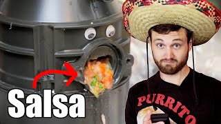 Making Salsa With A Garbage Disposal