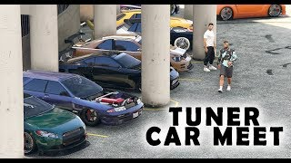 TUNER CAR MEET IN GTA 5 ONLINE