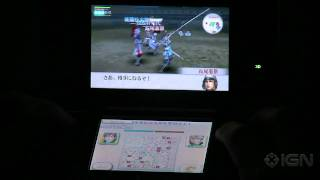 Samurai Warriors Chronicles: Fortress Storm Gameplay