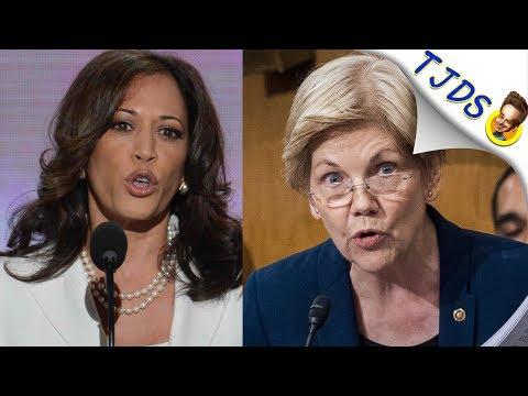 Kamala Harris Vs. Elizabeth Warren On Medicare For All