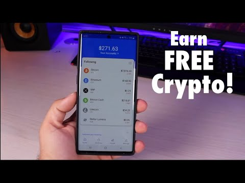 How To Earn FREE Crypto Like Bitcoin With Coinbase Earn!