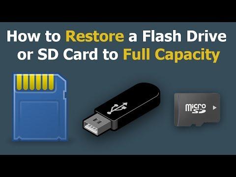 TRIK Mengembalikan Kapasitas SD Card Seperti Semula