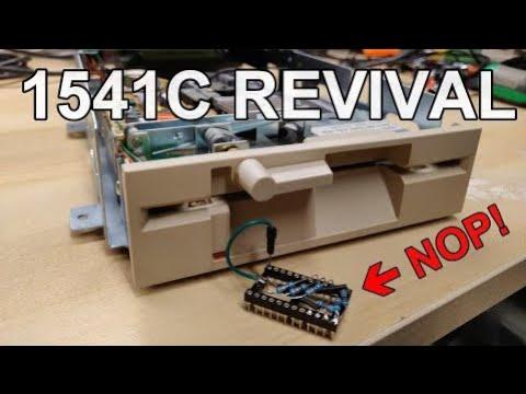 Using a NOP Generator to help fix a dead 1541C drive (Bonus Track 1 Sensor demo)