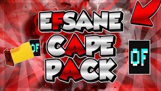 EFSANE MEGA CAPE(Pelerin) PAKETİ - (Minecraft)