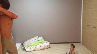 (インスタグラムで人気)ダルマさんもパパも赤ちゃんも転んだ。 CRAZYPA...