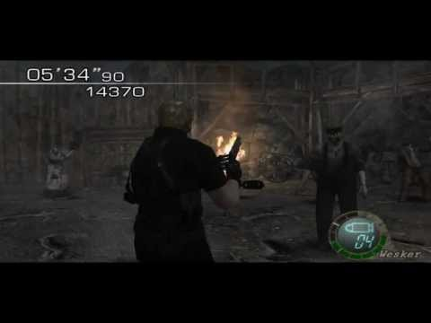Resident Evil 4 new stage Mercenaries HD
