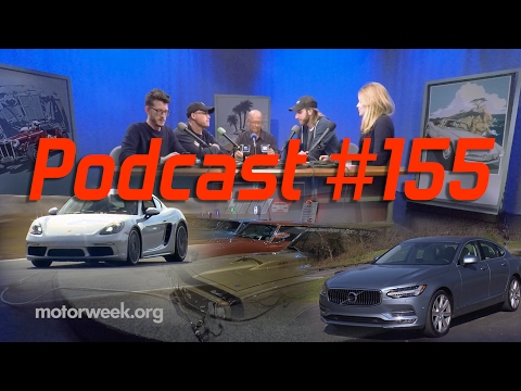 MotorWeek Podcast #155: 2017 Porsche 718 Cayman, 2017 Volvo S90, and the American Muscle Car Museum