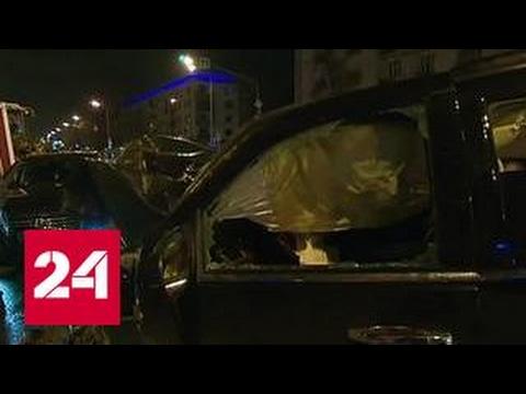 Ночные гонки по Москве закончились массовой аварией