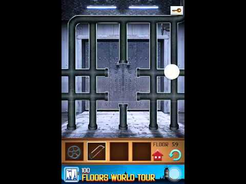 100 Floors Annex Level 59 Walkthrough Guide Youtube