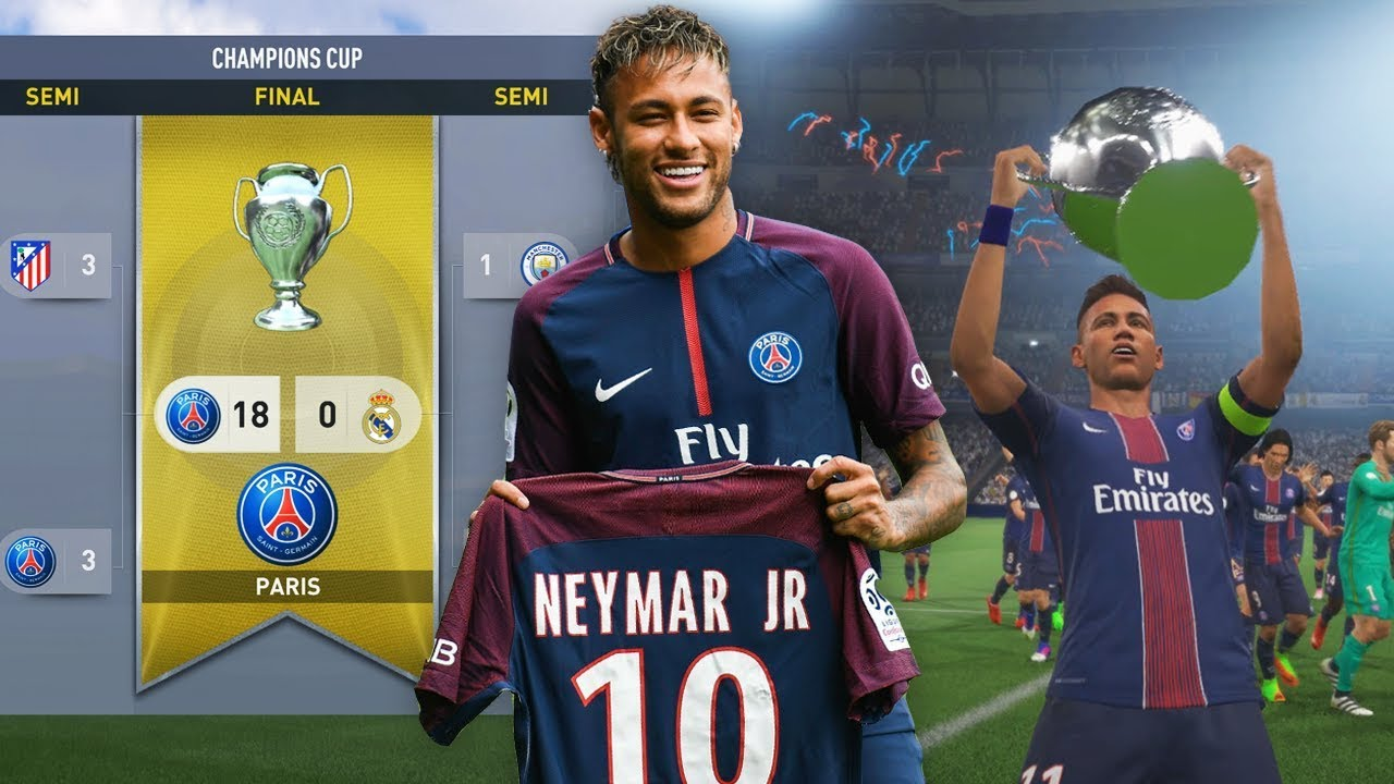 Can Neymar Win The Champions League With Psg Fifa  Career Mode