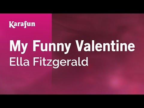 Karaoke My Funny Valentine  Ella Fitzgerald *