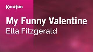 Karaoke My Funny Valentine - Ella Fitzgerald *