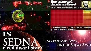 Is dwarf plant Sedna a Red Dwarf star? Red dwarf stars surround us.