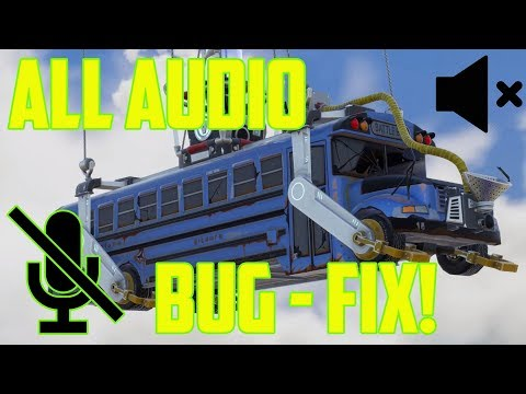 How to Fix ALL Fortnite Audio / Microphone Bug - PC & PS4 2018