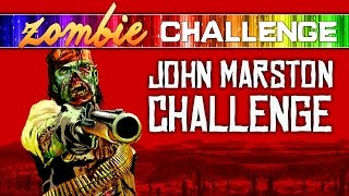 Call of Duty Zombies ★ JOHN MARSTON CHALLENGE (Red Dead Redemption)
