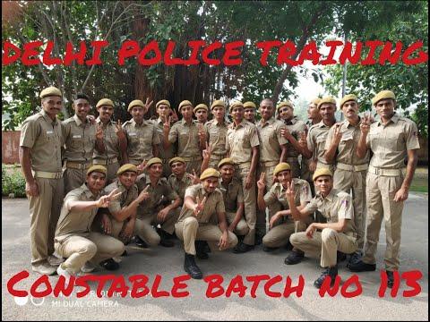 DELHI POLICE CONSTABLE TRAINING 2019