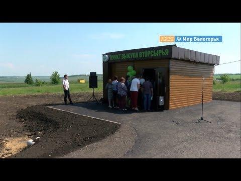 Пункт приема вторсырья в Красненском районе