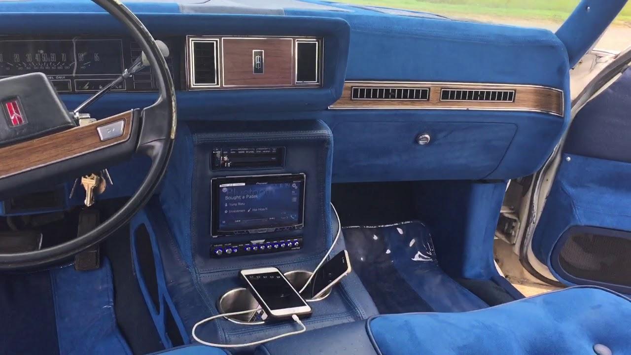 87 Cutlass Supreme Brougham 4dr Interior Update