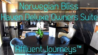 Norwegian Bliss Haven Deluxe Owners Suite