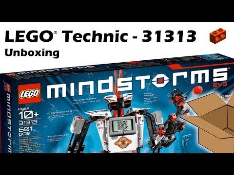 LEGO 31313, MINDSTORMS EV3 - Unboxing