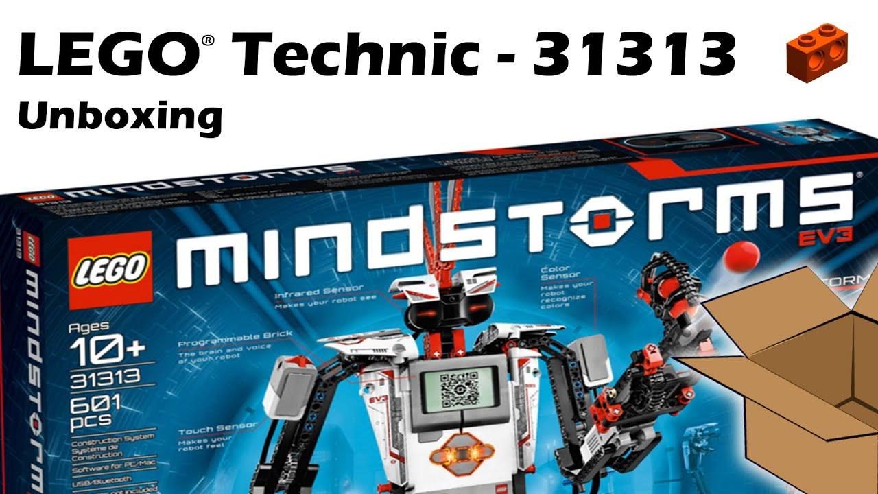 Lego 31313 Mindstorms Ev3 Unboxing Youtube