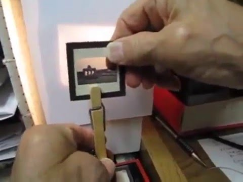 DIY: SLIDES TO DIGITAL PHOTOS ON A SHOESTRING BUDGET
