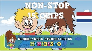 Kinderliedjes   NON-STOP KINDERLIEDJES   Nederlands   Tekenfilms   Minidisco