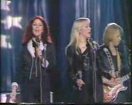 ABBA THE KING AS LOST HIS CROWN LIVE IN Switzerland' BBC TV