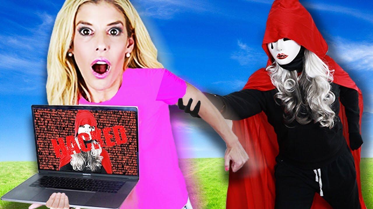Wir entkommen HACKER Hide and Seek Chase mit dem ERSTEN E3-Laptop, um das Game Master Network zu retten! + video