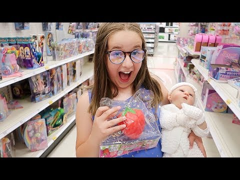 Toy Shopping with Reborn Baby Shiloh
