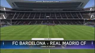 FIFA 14 PC Gameplay - Barcelona FC vs Real Madrid