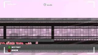 Super Meat Boy: 7-11 The Cotton Alley - Train Eater (saw jump trick)