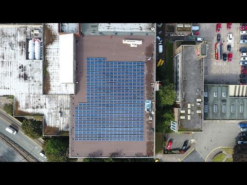 Northgate Arena - 100 kWp Community Solar Energy Installation