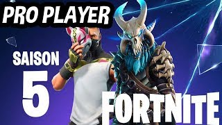 [FR/PC/LIVE] Fortnite Gameplay    /  Rush lvl 100   / 17 éme joueur SOLO PC / + 1500 WINS