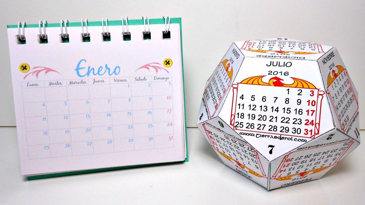 C mo hacer tu propio calendario parte 1 calendarios - Como hacer tu propio calendario ...