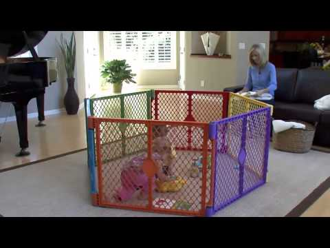North States Color Superyard Baby/Pet Gate