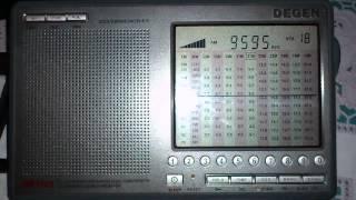 Индийское радио Дели (на русском языке) 9.595 kHz