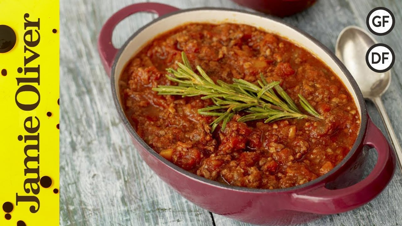 Easy Bolognese Recipe Jamie Oliver Youtube