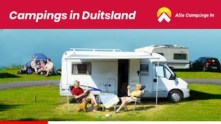 Campings in Duitsland  | Kamperen