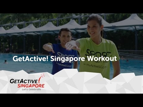 Tomorrow's Here today | National Day Parade 2016 theme Song | GetActive! Singapore 2016 workout