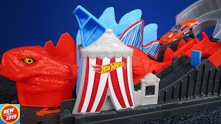 NEW FOR 2019 Hot Wheels Dino Coaster Playset for Hot Wheels City